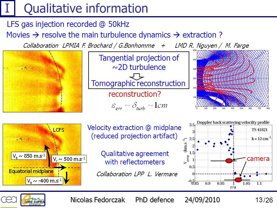 Qualitative information
