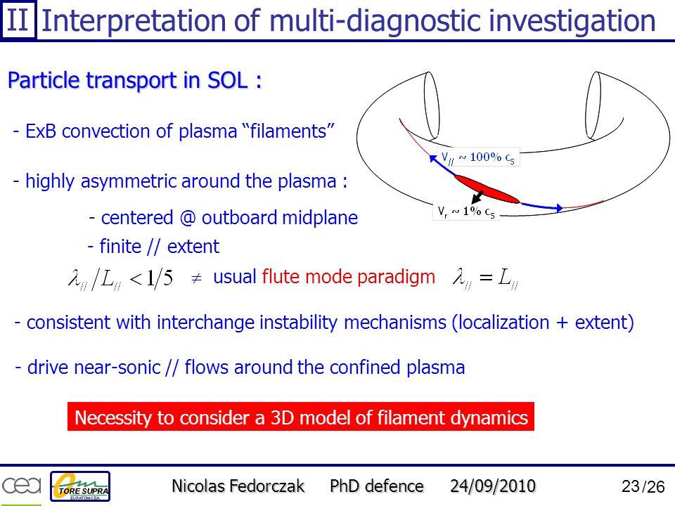 Interpretation of multi-diagnostic investigation
