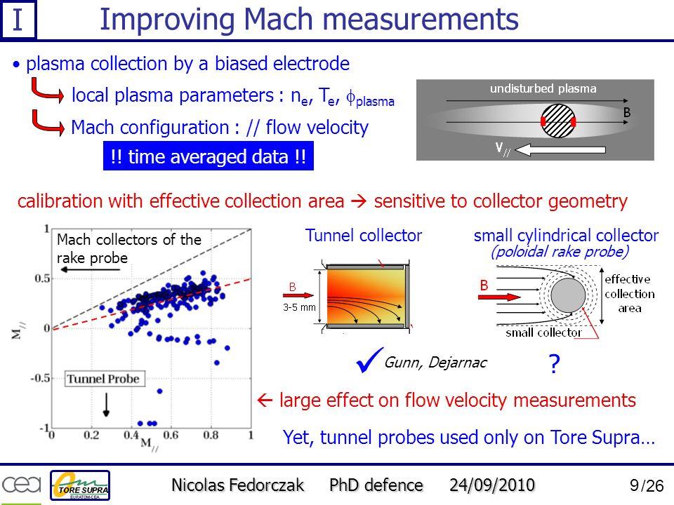 Improving Mach measurements