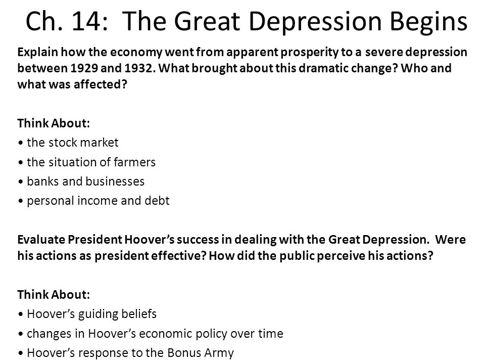 the great depression brought changes to History of the united states depression and a  victory in world war ii brought a spirit of great relief and joy to  resulting in major changes.
