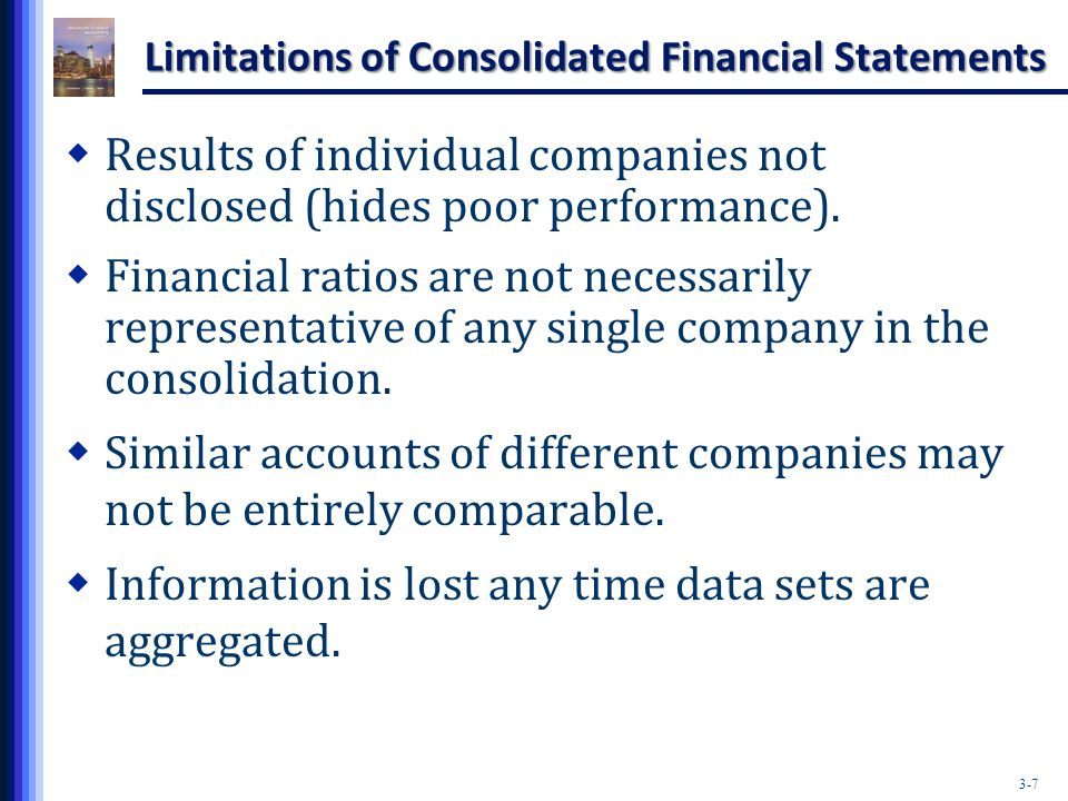 Explain the Various Financial Statements Like Balance Sheet