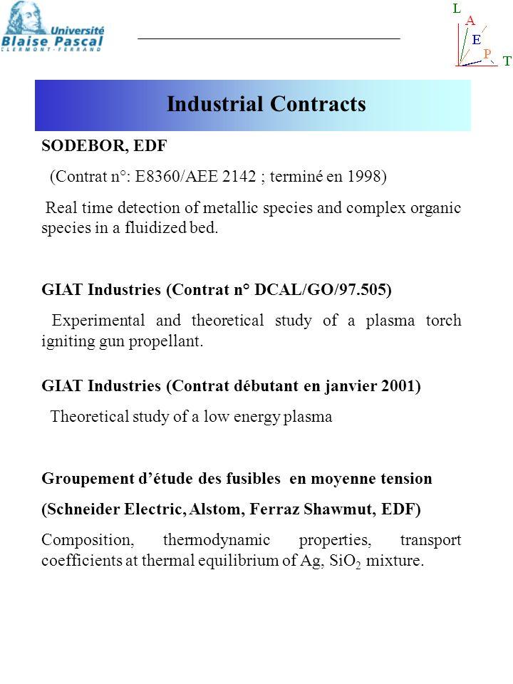Industrial Contracts SODEBOR, EDF