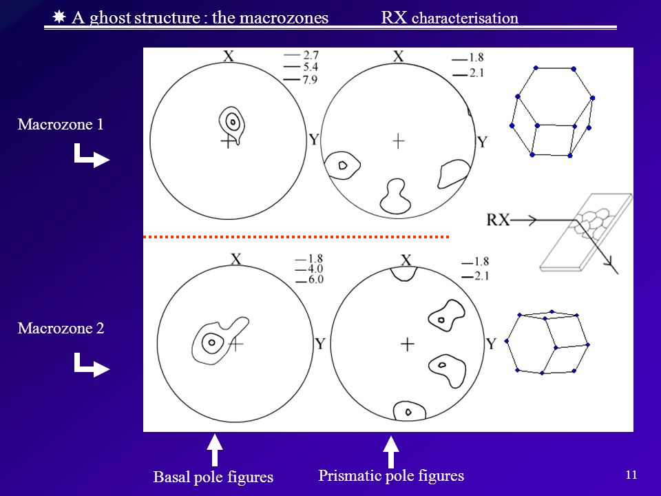 A ghost structure : the macrozones RX characterisation