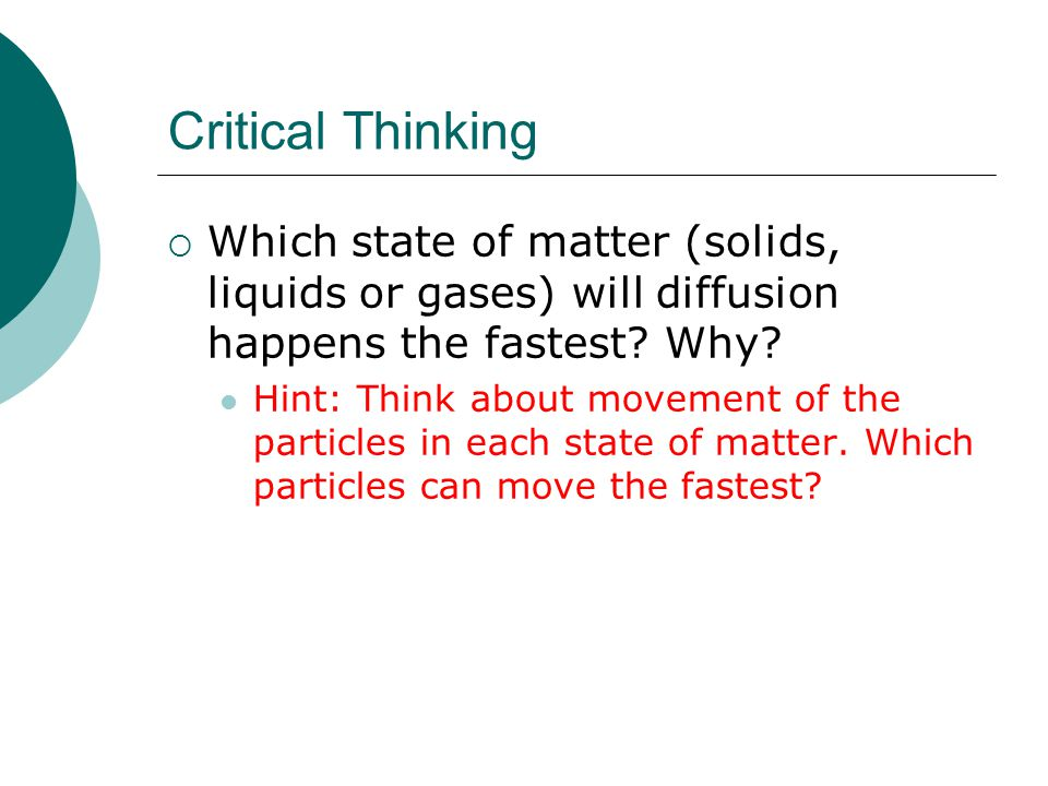 critical thinking is not a matter of accumulating information [C01] What is critical thinking?