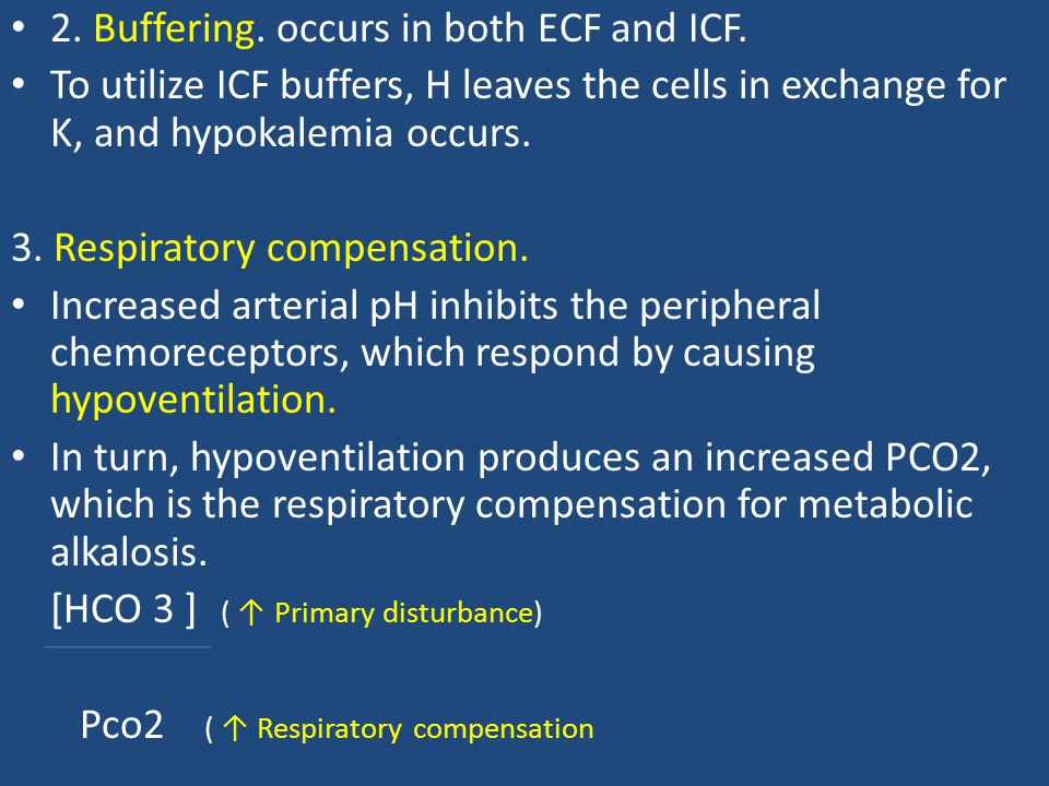 2. Buffering. occurs in both ECF and ICF.