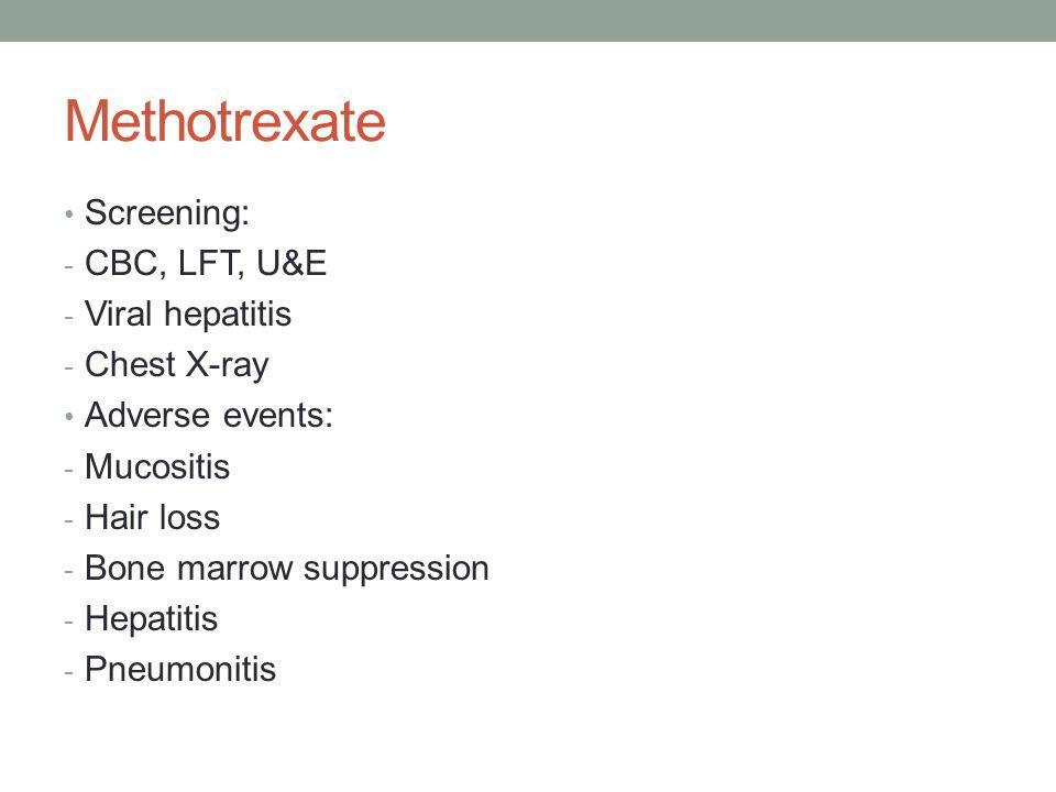 Methotrexate Hair Loss Common