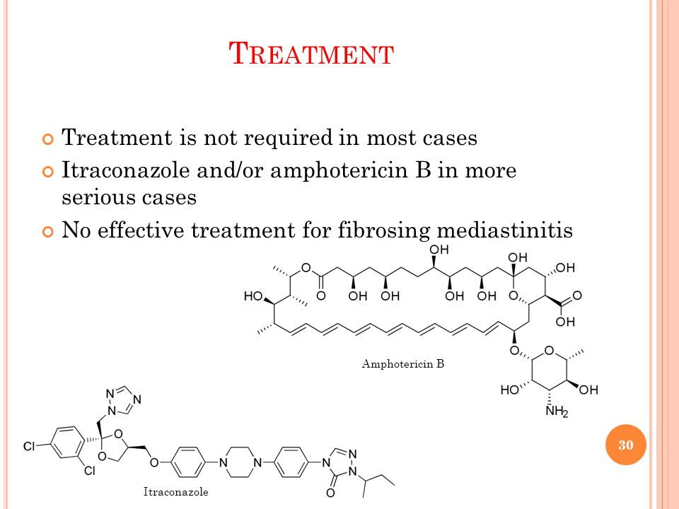 Treatment Treatment is not required in most cases
