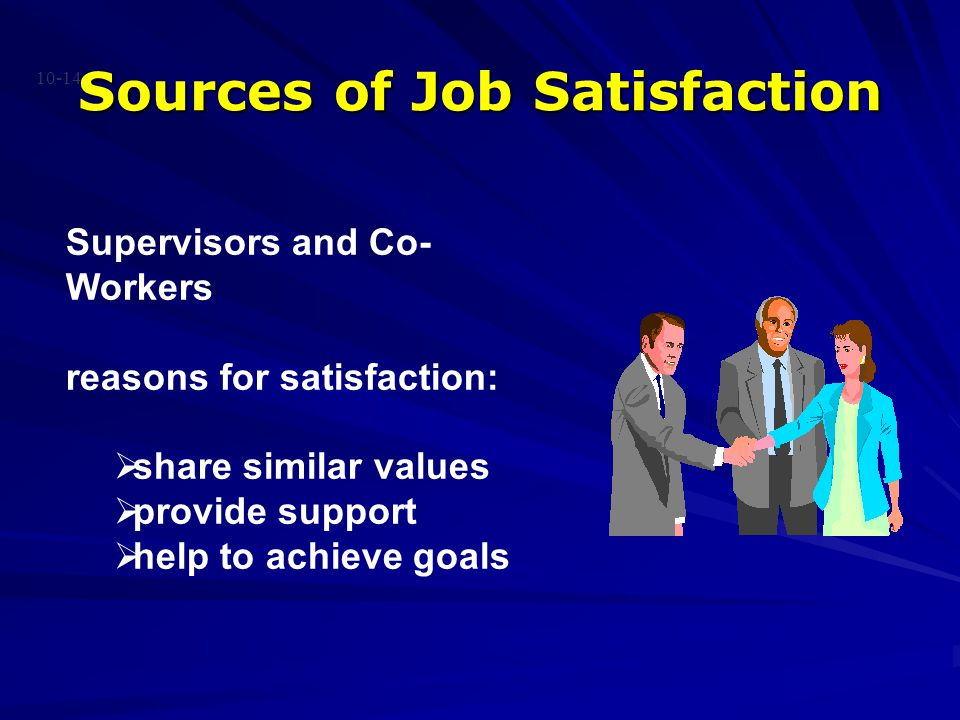 Sources of Job Satisfaction