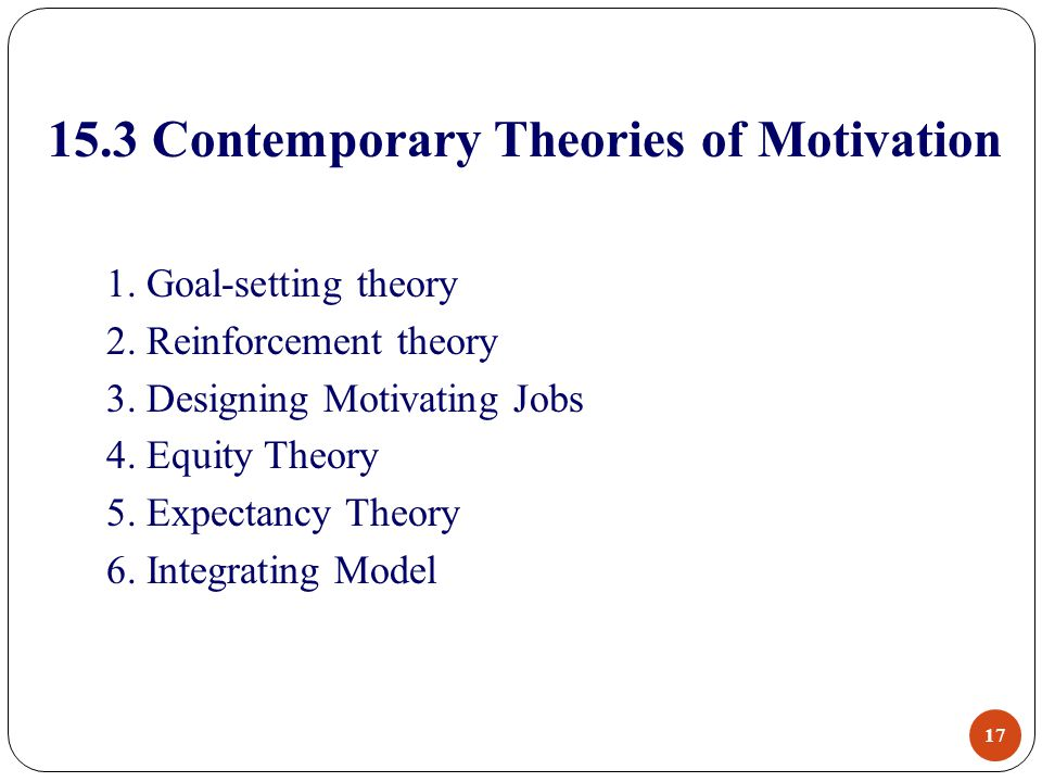 expectancy goal setting theory Start studying ch 16 part 2 learn vocabulary expectancy theory 2) which goal setting theory term refers to the the extent to which a goal is challenging and.