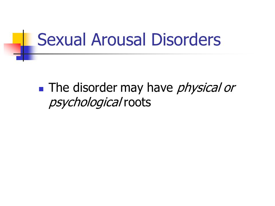 Sexual Disorders Paraphilias Resources And Information