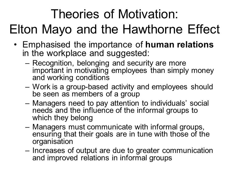 """human relations elton mayo Elton mayo nacque in australia nel 1880 ed è considerato il fondatore della  sociologia industriale, in particolare del """"human relations movement"""",."""