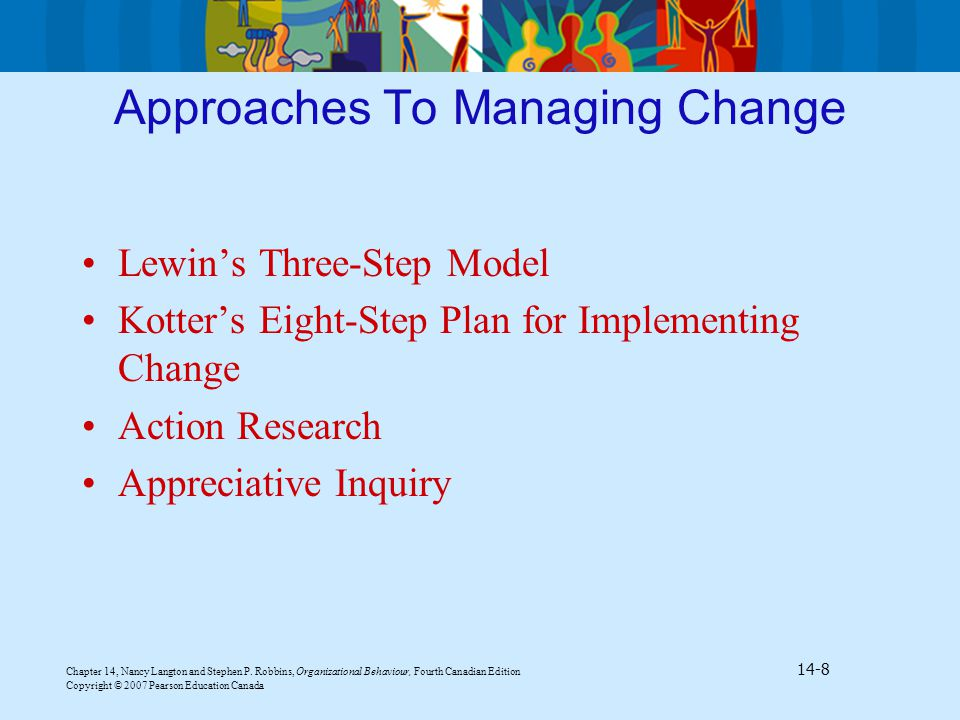 comprehensive plan to implement an organizational change Employees to support the comprehensive diversity management plan and its and are responsive to change addressing organizational concerns implementing the.