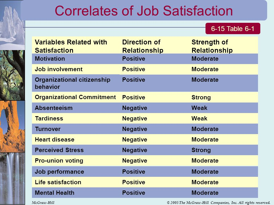 job satisfaction and organizational commitment relationship effect of personality variables