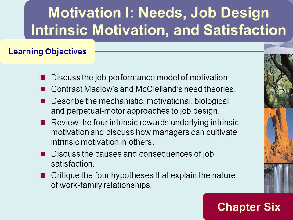 job motivation and job performance Employee motivation and their productivity can be enhanced by creating a work environment which maximizes the factors affecting their performance often, these factors are simple to understand, easy.