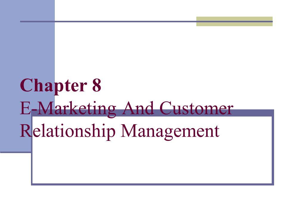 Marketing and customer relationship management