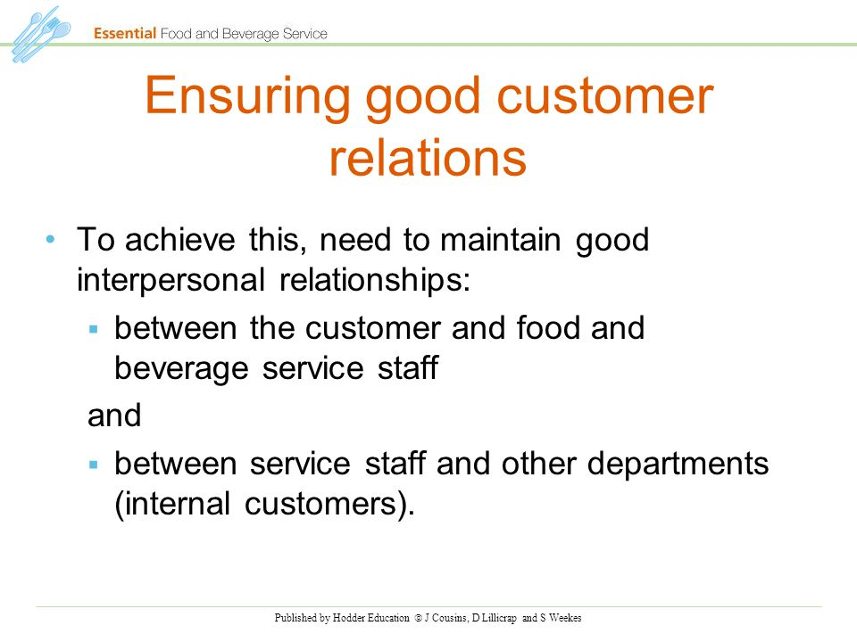 how to maintain good customer relationship