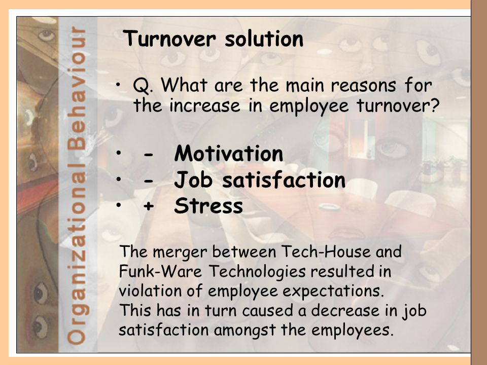 Factors that Drive Employee Turnover and Job Satisfaction