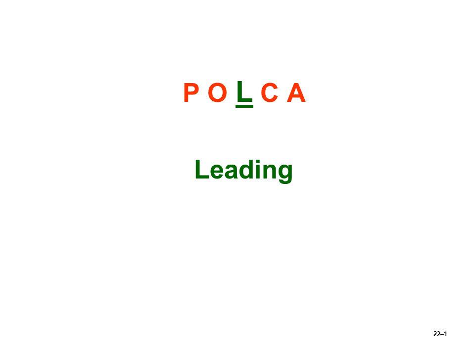 P O L C A Leading