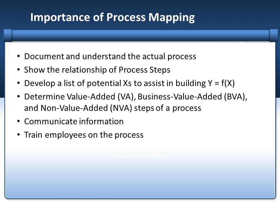 Importance of Process Mapping