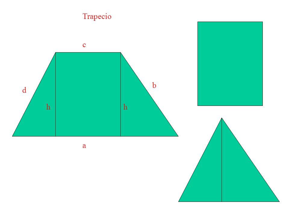 Trapecio a b c d h