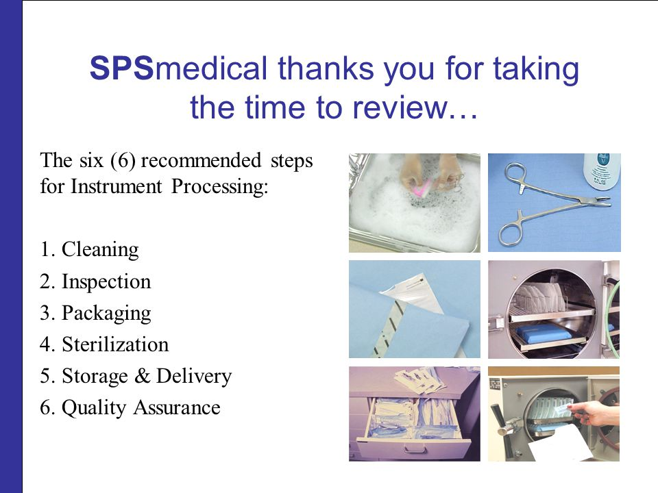 cleaning packaging sterilization of instruments ppt