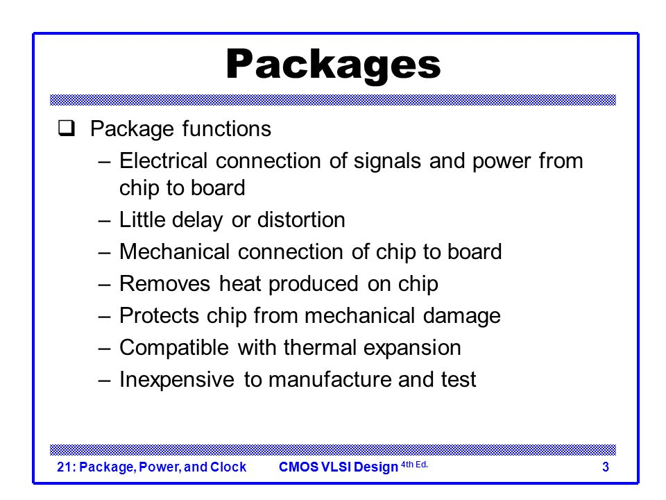 Packages Package functions