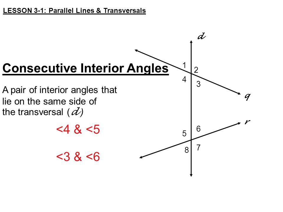 10 Consecutive Interior Angles