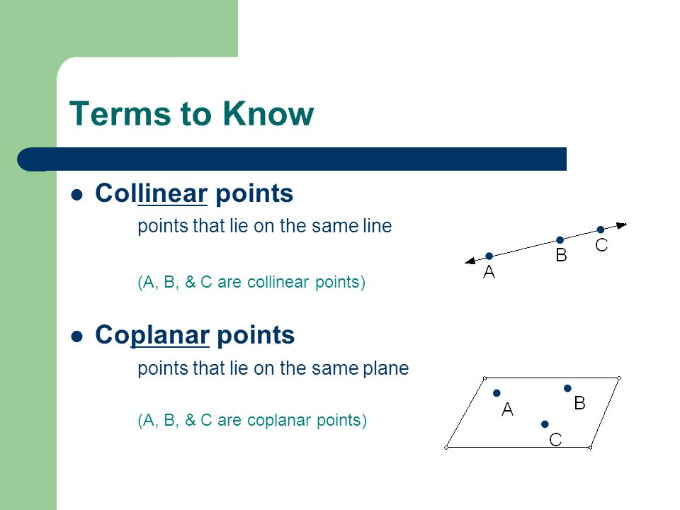 Points, Lines, & Planes. - ppt download