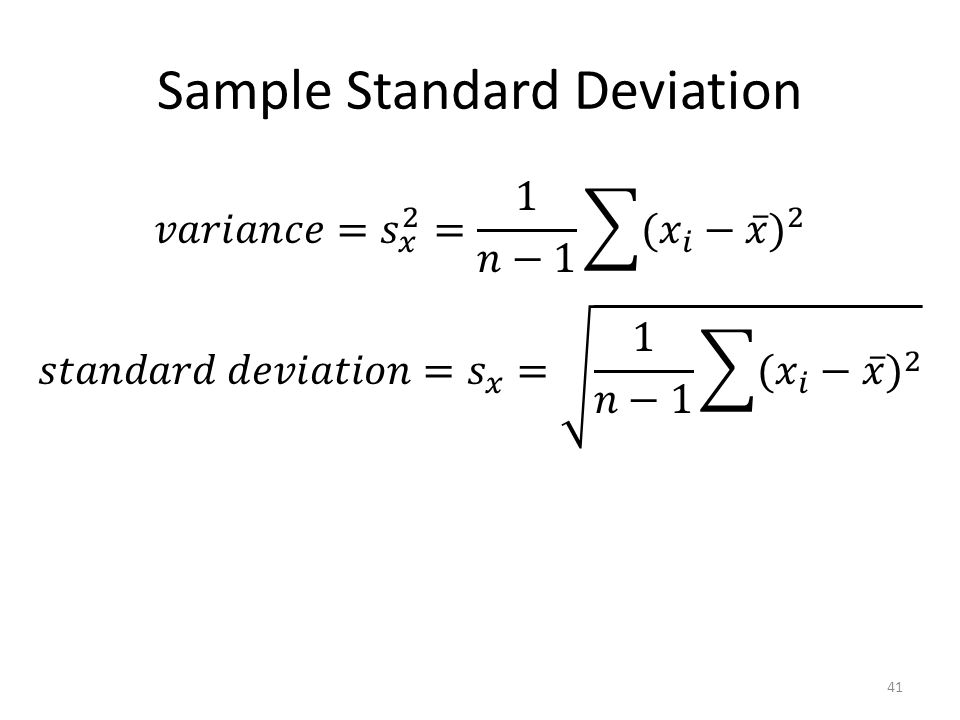 properties of standard deviation pdf