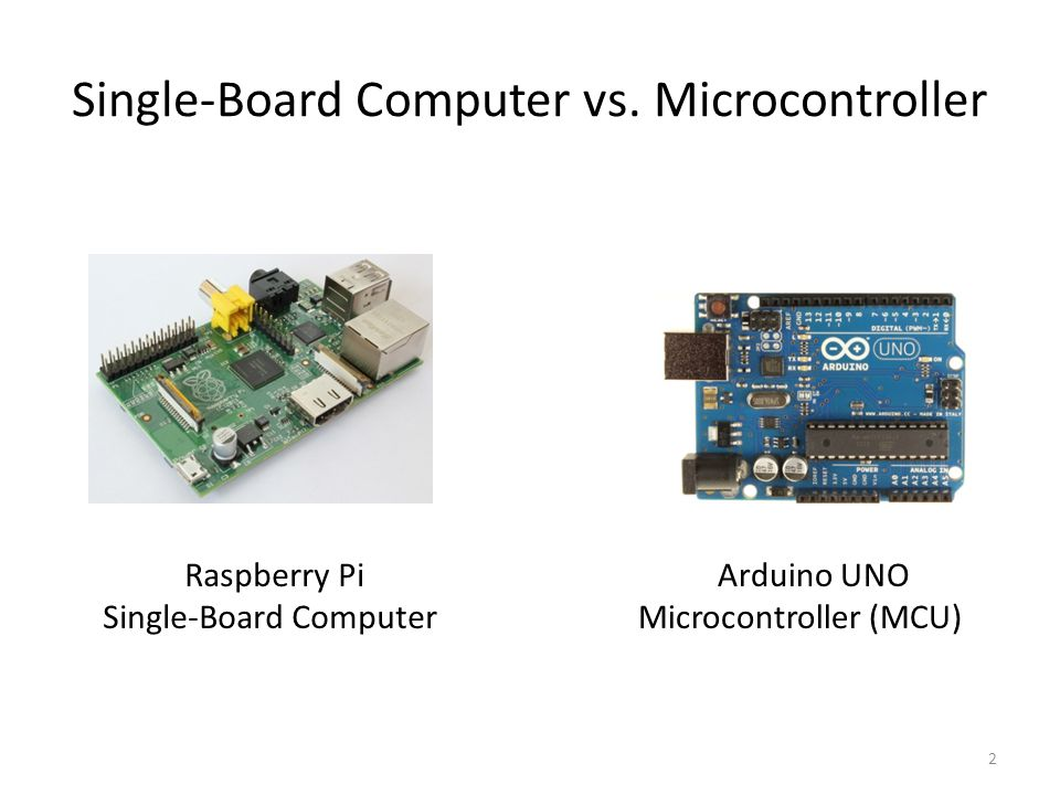 Introduction to single board computers and
