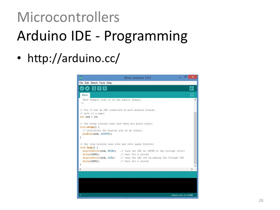 Learn microcontroller programming in c online compiler