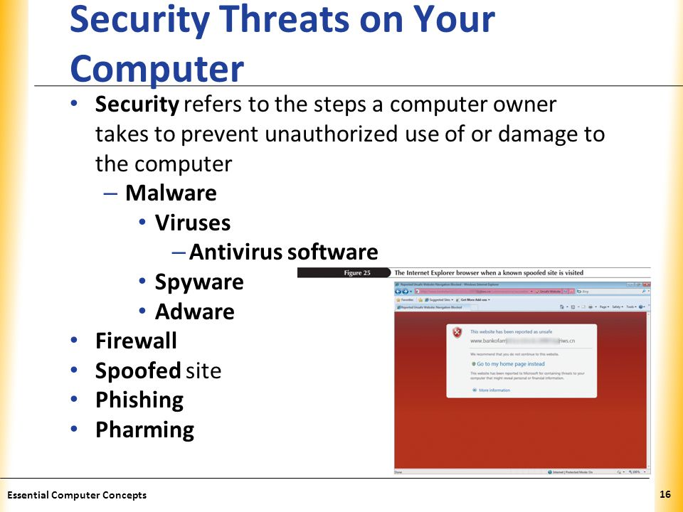 Security Threats on Your Computer