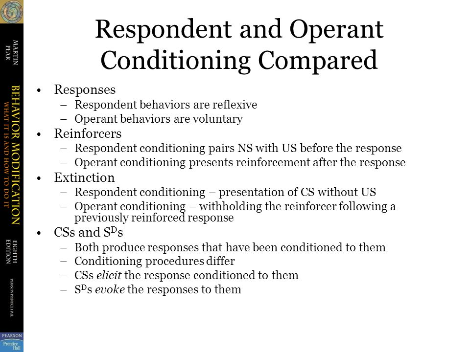 application of operant conditioning pdf