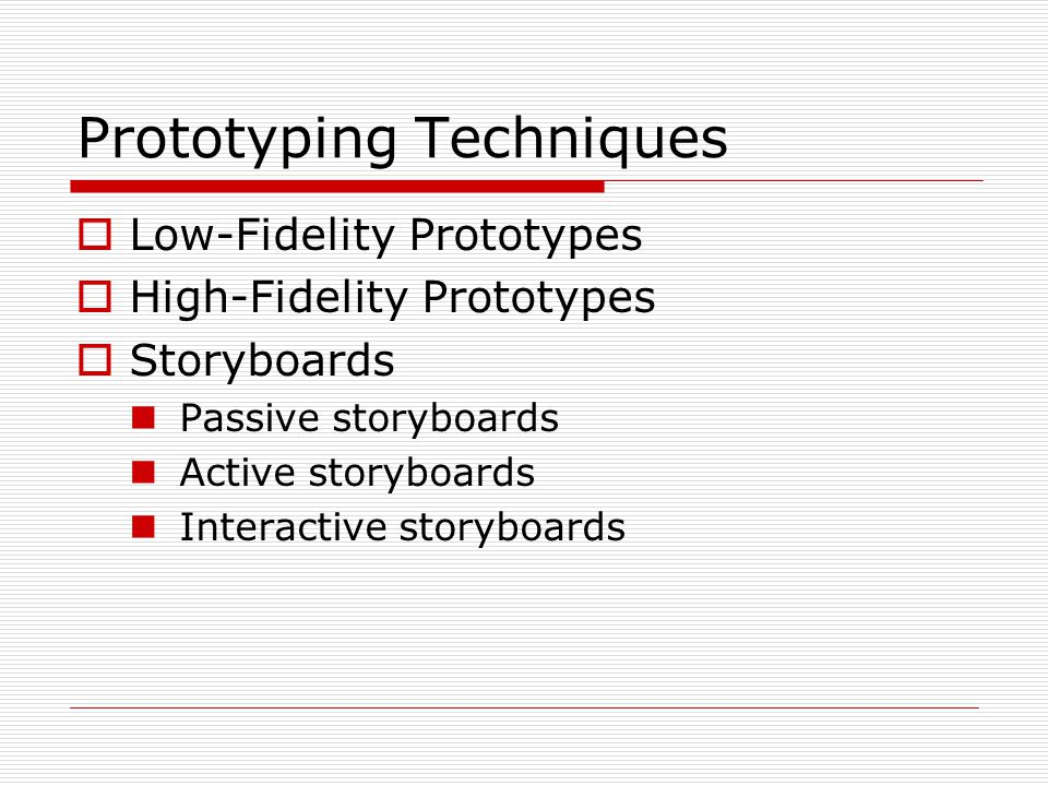 Prototyping And Storoyboards - Ppt Download