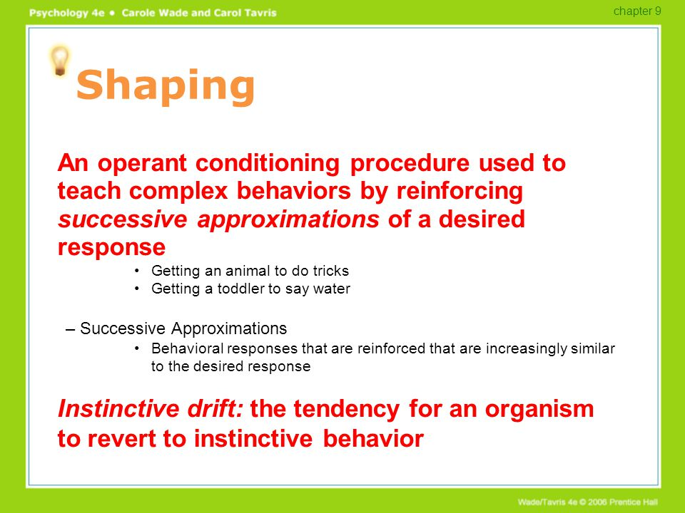 How to Diet Using Operant Conditioning