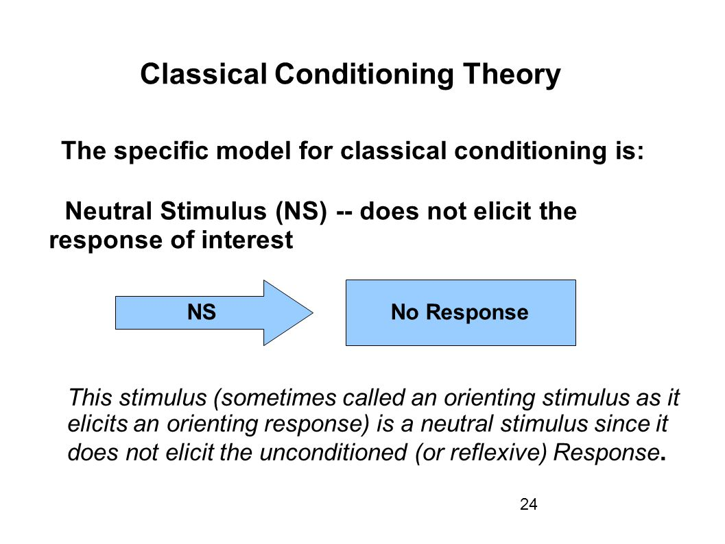 organizational theories response