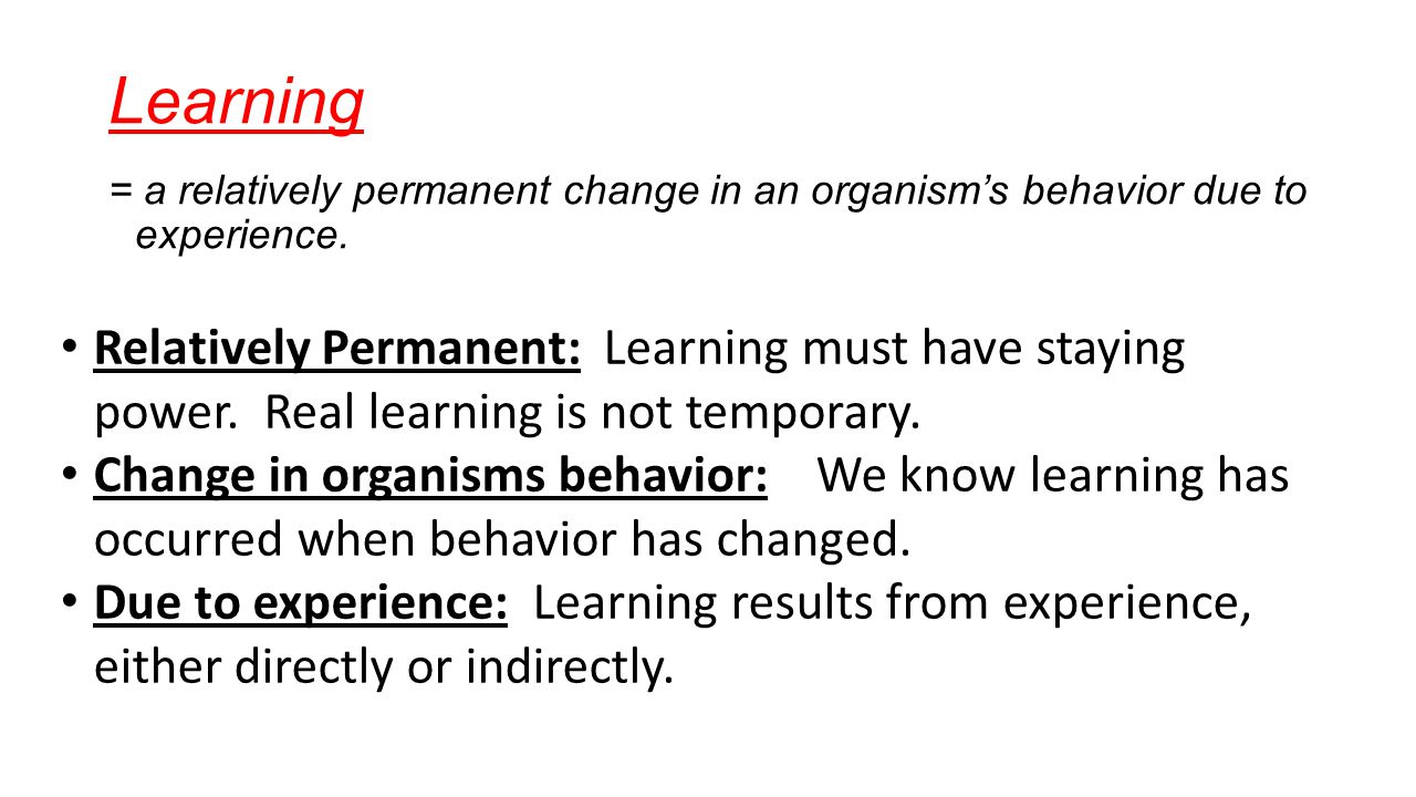 how organism learn classical and operant How organism learn: classical and operant conditioning there are two main explanations of how organisms learn the first explanation is known.