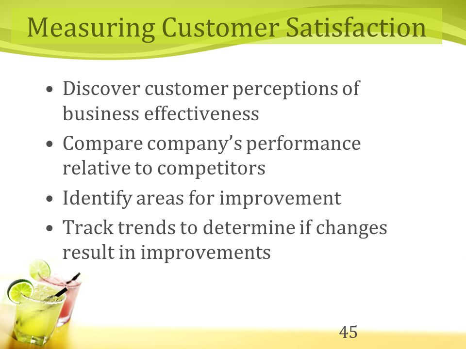 a business model of maximum customer satisfaction A 10 percent improvement in functionality results in a 10 percent improvement in customer satisfaction for example, the faster the response time on a system, or the more miles per gallon for a vehicle, the more the customer likes it.