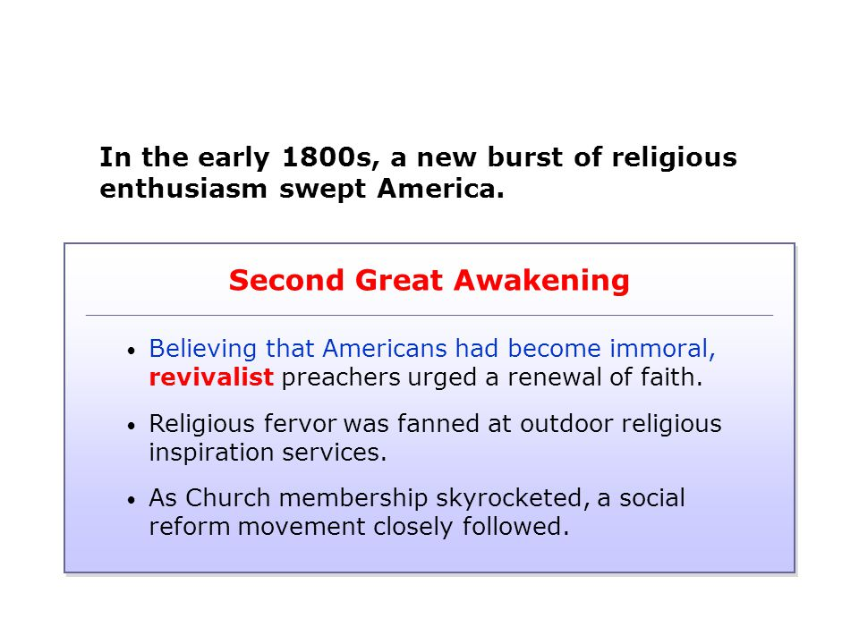 second great awakening essay
