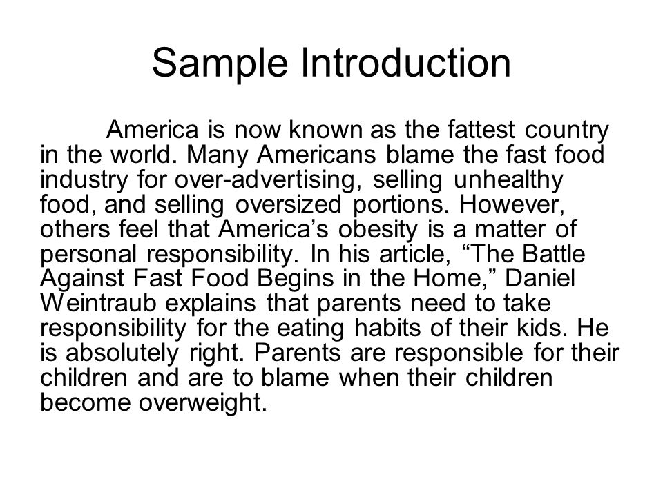 fast food is killing america essay Let us write or edit the essay on your topic junk food is killing america with a personal 20% discount grab the best paper extract of sample junk food is killing america.