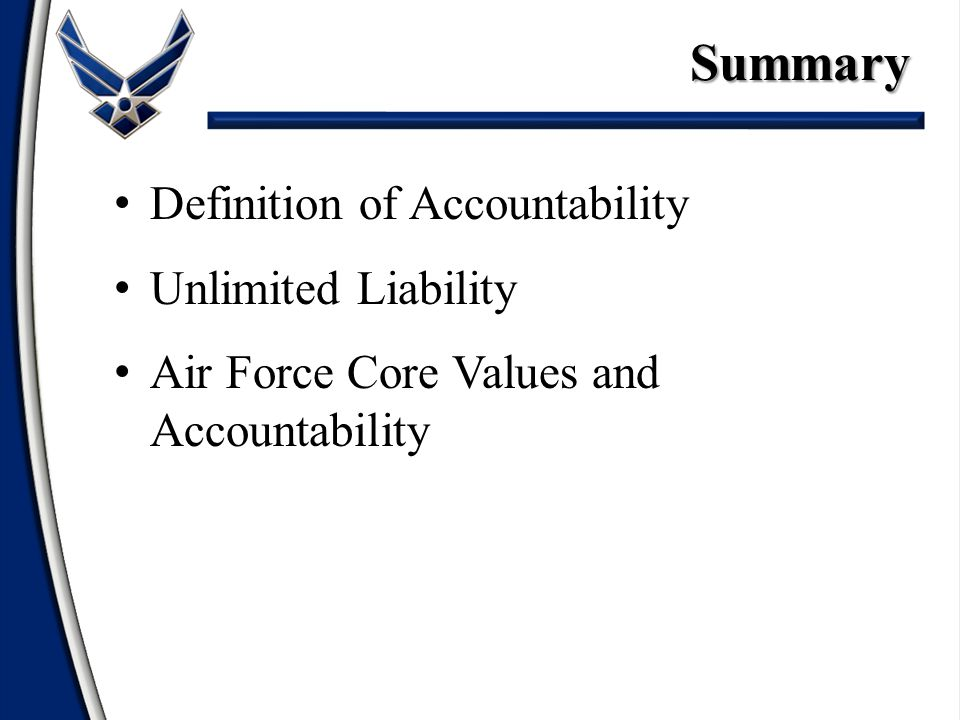 Leadership Accountability - ppt video online download
