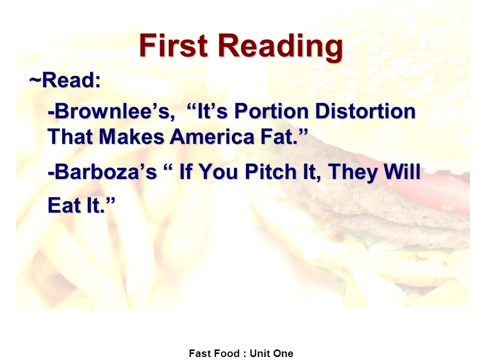 if you pitch it they will eat View notes - if you pitch it, they will eat from english iii at middle college high school if you pitch it, they will eat i by david barboza ' new york limes, august 3, 2003 ' - 1 the.