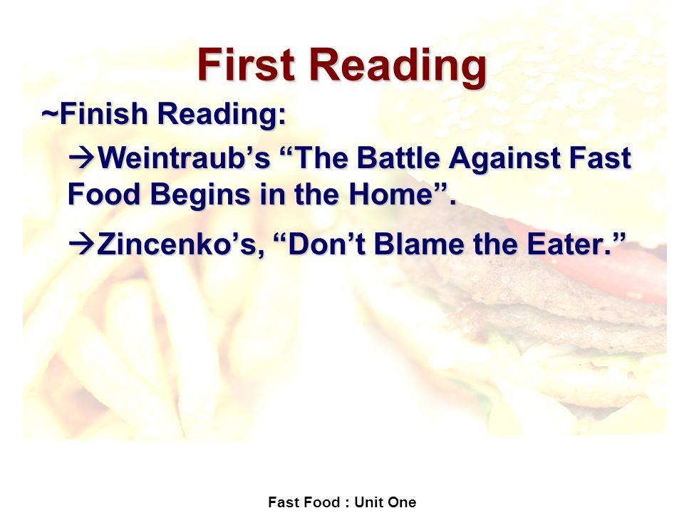 """summary of don t blame the eater Strategies for summarizing a summary case study conclusion  in his article """" don't blame the eater,"""" david zinczenko supports his position."""