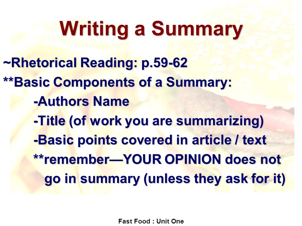 rhetorical reading response Strategies for response homework preparing to write a response as you read the material this course, please pay attention to both textual and extra-textual information—read the way schmidt.