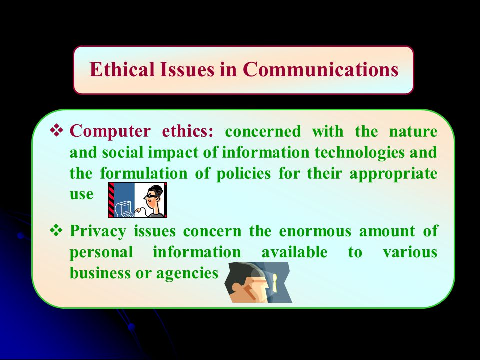 Various Ethical And Legal Issues In Business Communication Essay  Various Ethical And Legal Issues In Business Communication