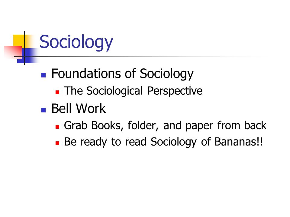essay on the sociological perspective - this essay aims to give an overview perspective of three sociological approaches to the family functionalist, marxist and feminist, how each approach sees society and how each approach perceives the family.