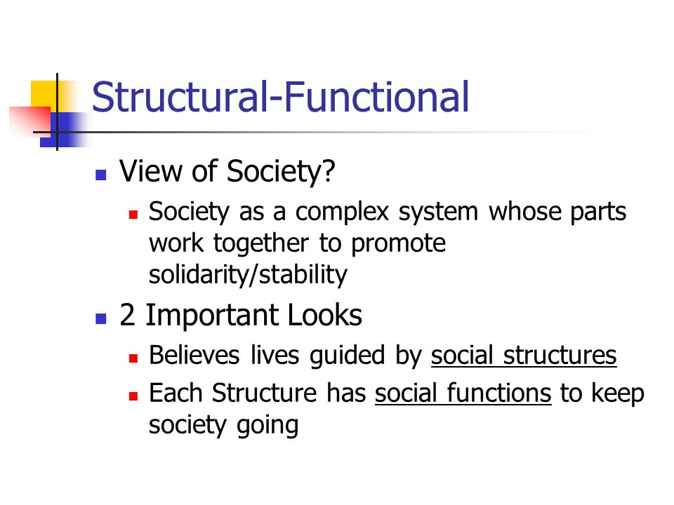 functionalist perspective on unemployment Reading: functionalist theory on education functionalism functionalists view education as one of the more important social institutions in a society they contend .