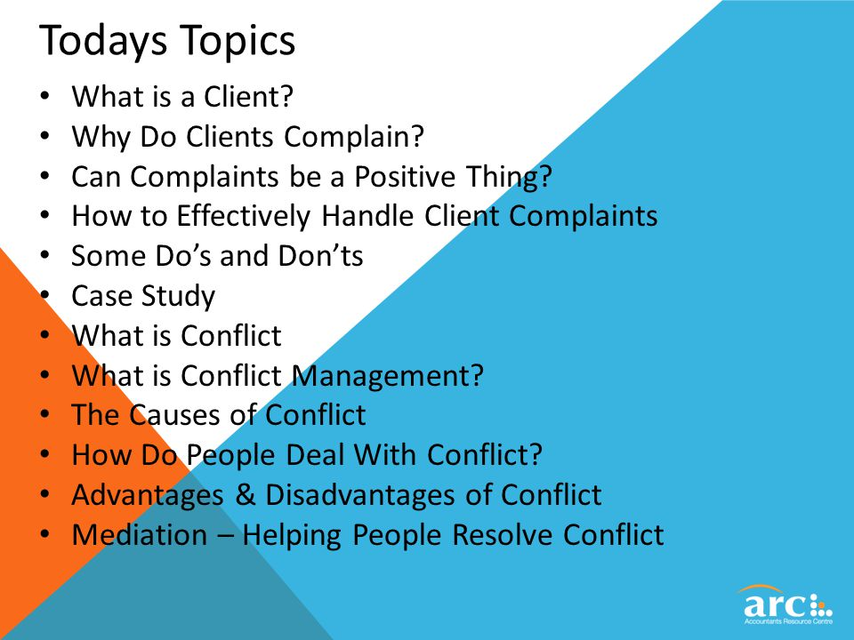 how to identify and resolve conflicts