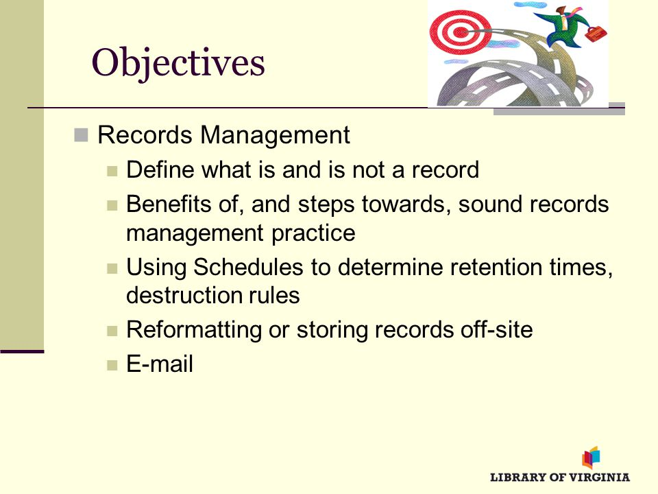 definition of records management What is records management there are many, though similar, definitions of  records management one common one is the field of.