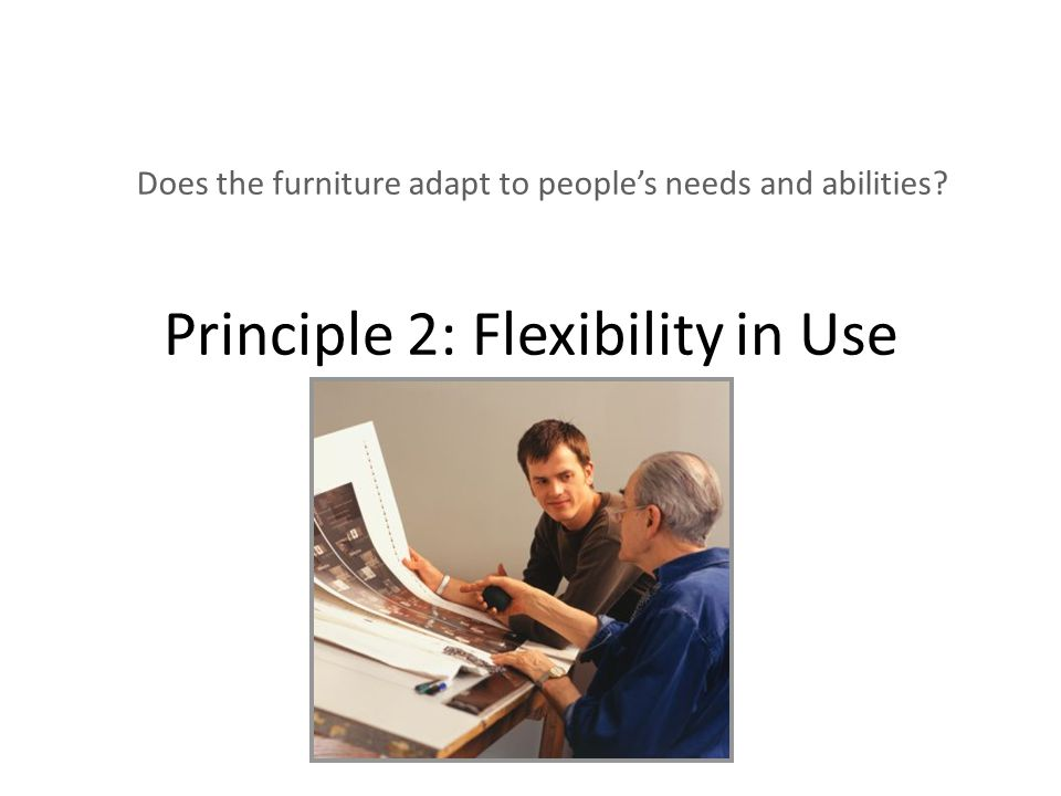 Job design and flexibility